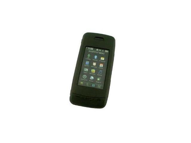 Fosmon Silicone Skin for LG Voyager VX-10000 (Black)
