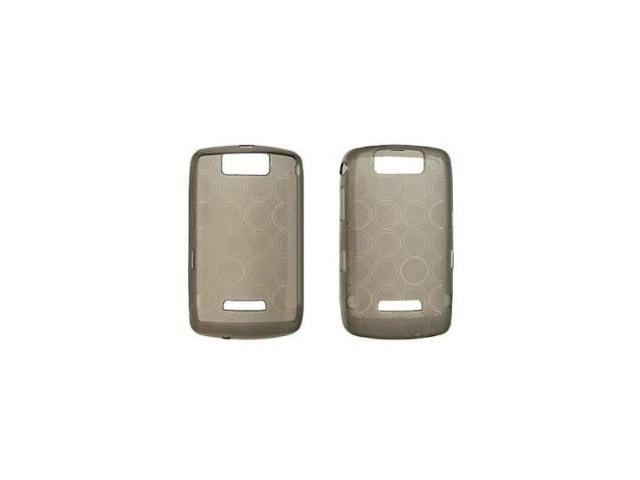 Fosmon Silicone Skin for BlackBerry Storm 9500 / 9530 (Gray Bubble Design)