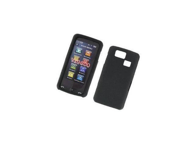 Fosmon Silicone Skin for LG Versa VX9600 (Black)