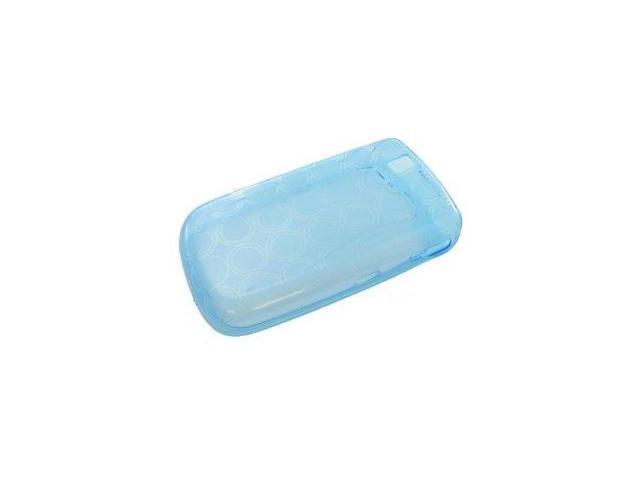 Fosmon Silicone Skin for BlackBerry Tour 9630 (Blue Bubble Design)