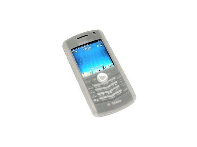 Fosmon Silicone Skin for BlackBerry Pearl 8100 (Smoke Gray)