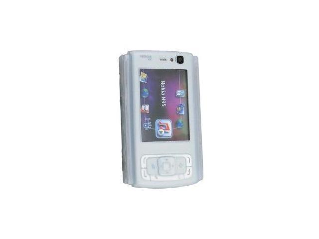 Fosmon Silicone Skin for Nokia N95 (Clear)
