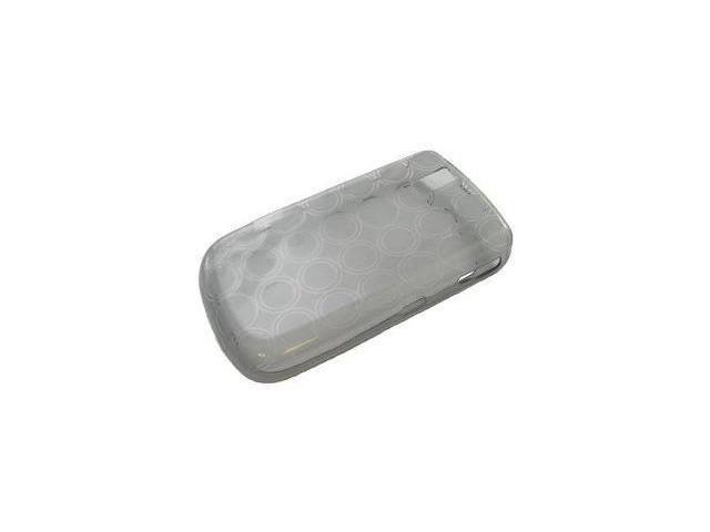 Fosmon Silicone Skin for BlackBerry Tour 9630 (Gray Bubble Design)