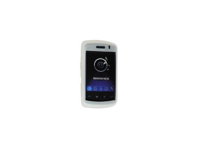 Fosmon Silicone Skin for BlackBerry Storm 9500 / 9530 (Clear)