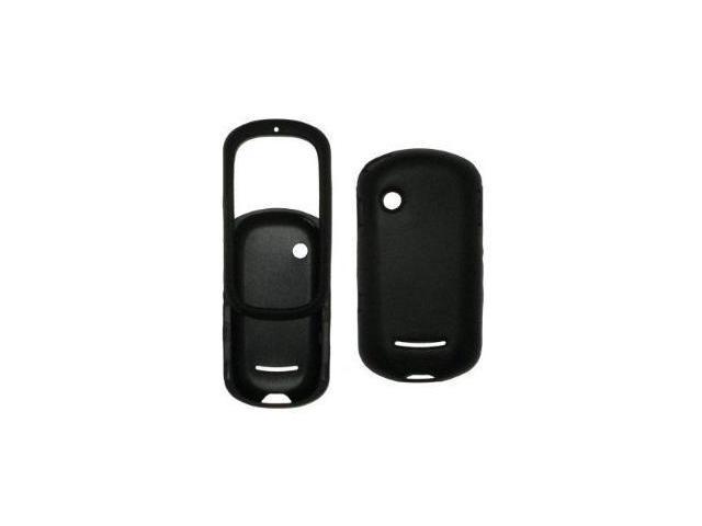 Fosmon Silicone Skin for Motorola Evoke QA4 (Black)