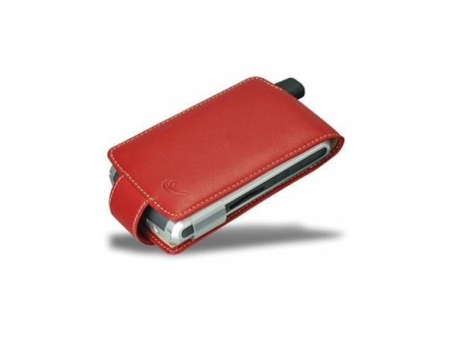 HP iPAQ h6300 h6315 h6350 Covertec Leather Case - Red