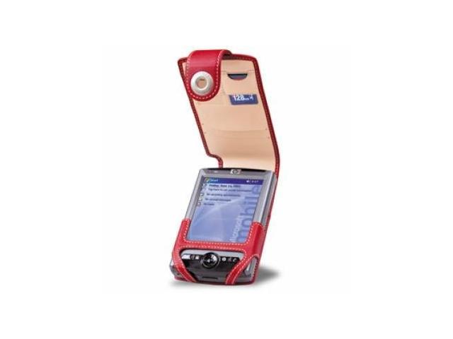 HP iPAQ rx3115 rx3400 rx3715 Covertec Leather Case - Red