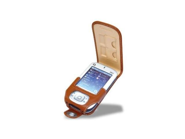 Covertec Leather Case for O2 XDA II mini, i-Mate JAM, T-Mobile MDA Compact, Qtek S100 - Brown
