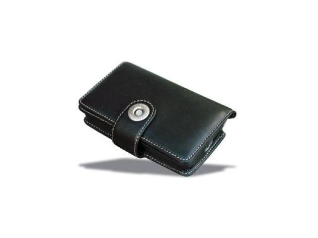 Covertec Luxury Flip Leather Case fits Navman iCN 510 / iCN 520, Mitac Mio 169 Covertec Leather Case - Black