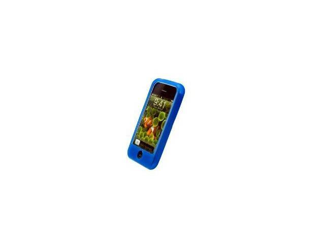 Fosmon Silicone Skin for Apple iPhone 3G / 3GS (Blue)