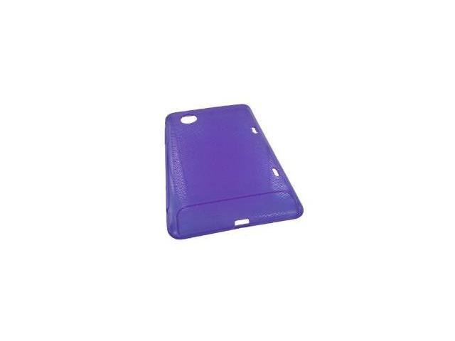 Fosmon TPU Case With Textured Grip for HTC Flyer (Purple)