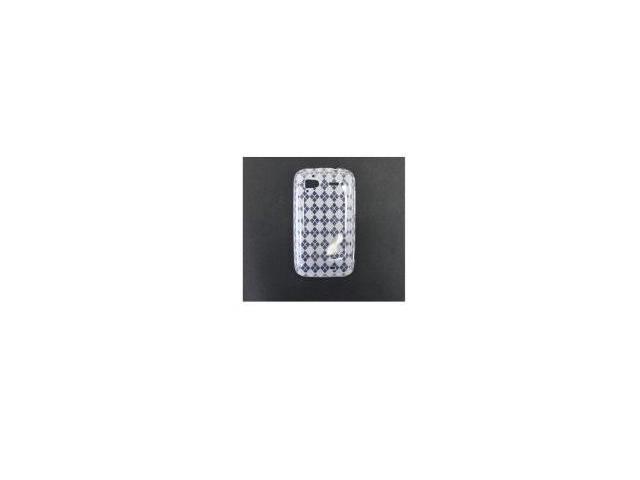 Fosmon TPU Case for HTC Sensation 4G / Pyramid (Argyle Clear)