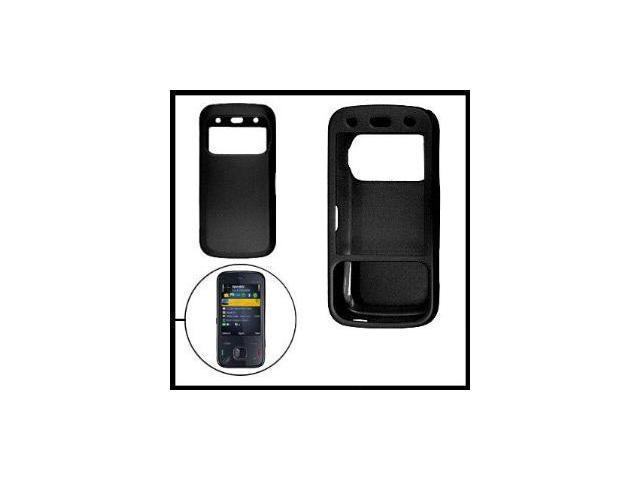 Fosmon Rubberized Hardshell Case for Nokia N86 (Black)