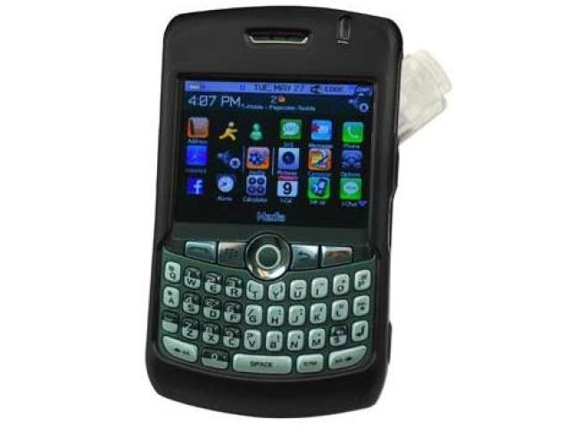 Cellet CCBLK8330BK Proguard Rubberized Coated Shield with Swivel Clip for BlackBerry 8300 8310 8320 8330 Curve