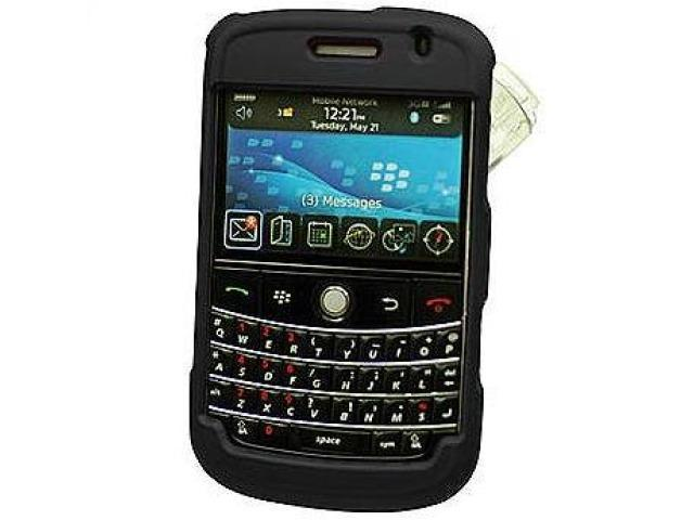 Cellet CCBLK9000BK Proguard Rubberized Coated Shield with Swivel Clip for BlackBerry Bold 9000 - Black
