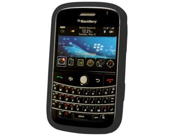Cellet SCBLK9000BK Jelly Case Silicone Case for BlackBerry Bold 9000 - Black