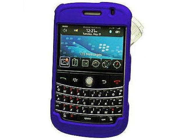 Cellet CCBLK9000BL Proguard Rubberized Coated Shield with Swivel Clip for BlackBerry Bold 9000 - Blue