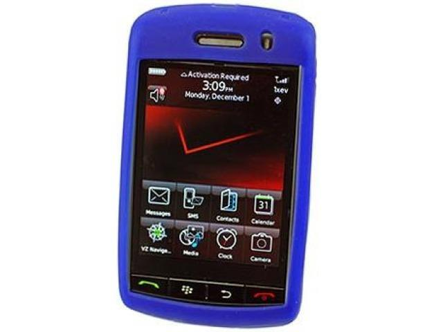 Cellet SCBLK9500BL Jelly Case Silicone Case for BlackBerry Storm 9530 - Blue
