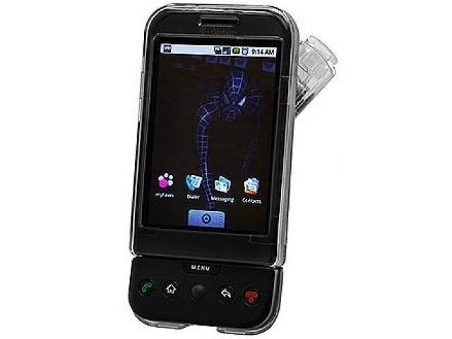 Cellet CCHTCG1CL Proguard Crystal Clear Hard Case with Swivel Clip for T-Mobile G1 / HTC Dream - Clear