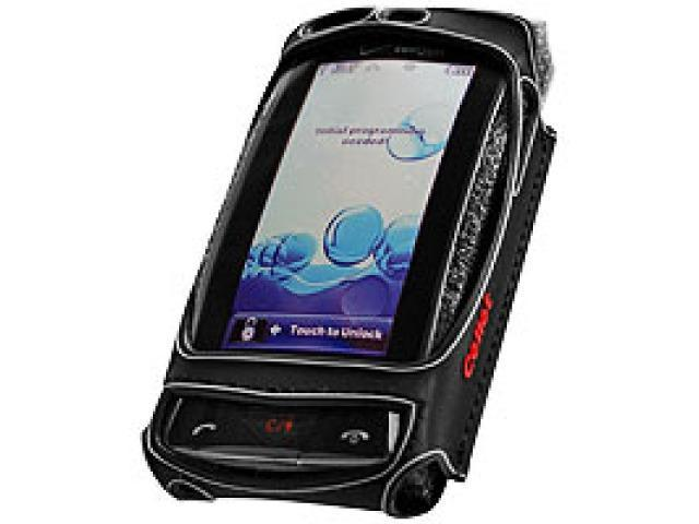 Cellet QLGVX9600 Stingray Case with Swivel Clip & Spring Clip for LG Versa VX9600 - Black