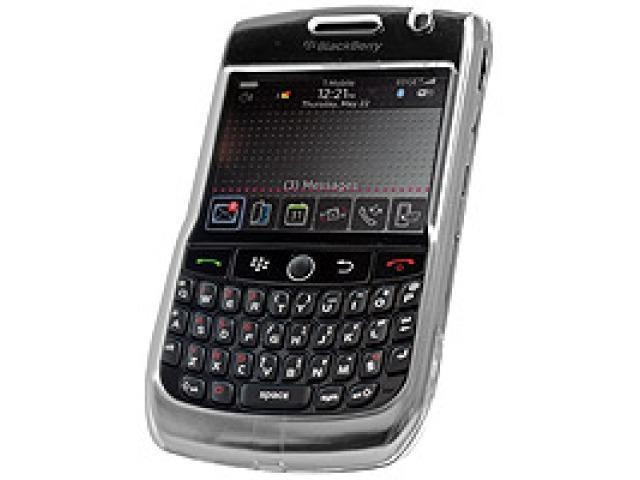 Cellet CCBLK8900CL Proguard Crystal Clear Hard Case for BlackBerry Curve 8900 - Clear