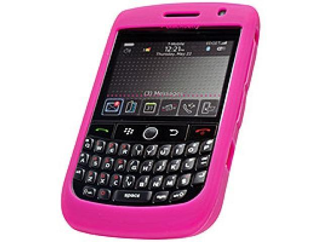 Cellet SCBLK8900HPK Jelly Case Silicone Case for BlackBerry Curve 8900 - Hot Pink