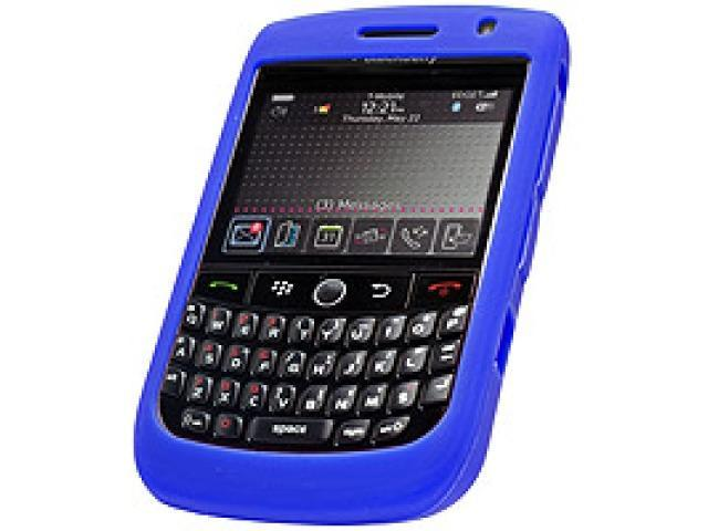 Cellet SCBLK8900BL Jelly Case Silicone Case for BlackBerry Curve 8900 - Blue