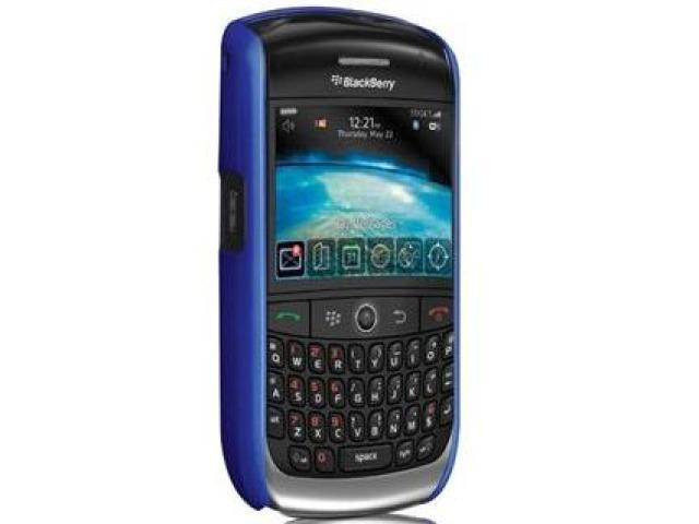 Case-Mate Barely There Case for Blackberry Curve 8900 - Blue
