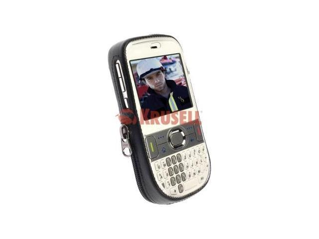 Krusell 89308 Palm Treo 500v Classic Leather Case with Spring Clip