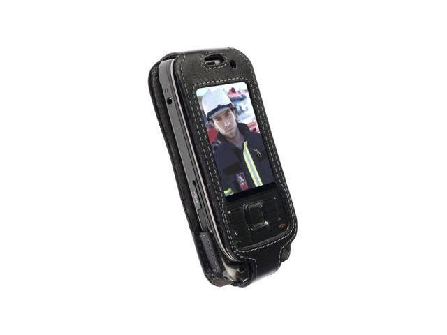 Krusell 89358 Nokia E66 Dynamic Leather Case with Swivel Clip
