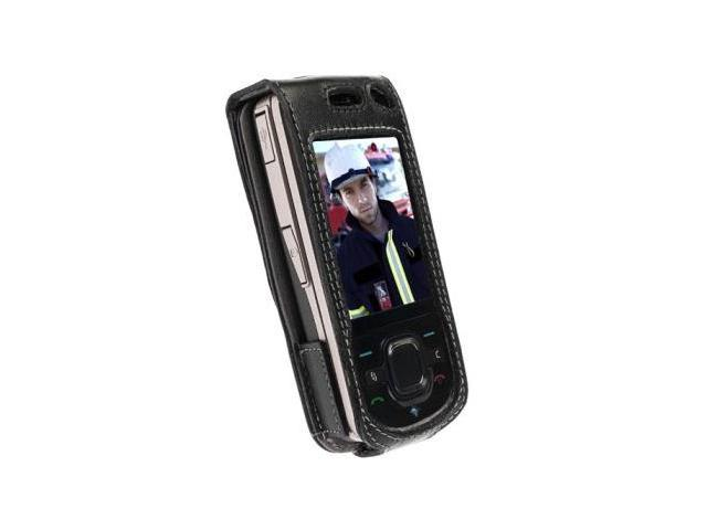 Krusell 89363 Nokia 6210 Navigator Dynamic Leather Case with swivel clip