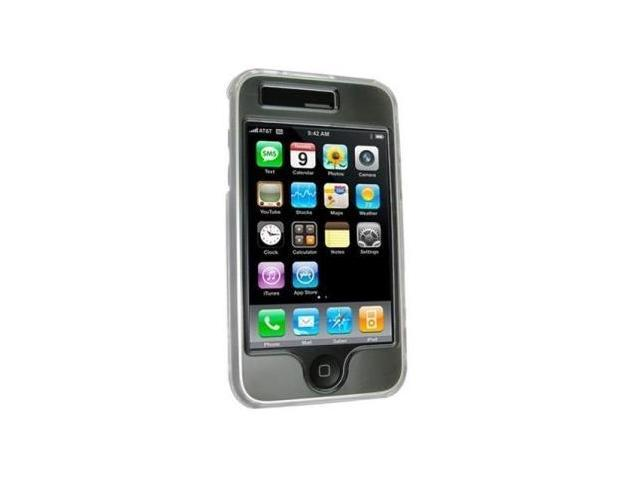 Apple iPhone 3G / 3G S Crystal Clear Case with Swivel Clip