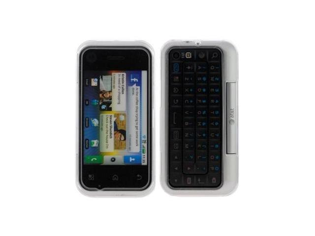 Motorola BACKFLIP MB300 Crystal Clear Case