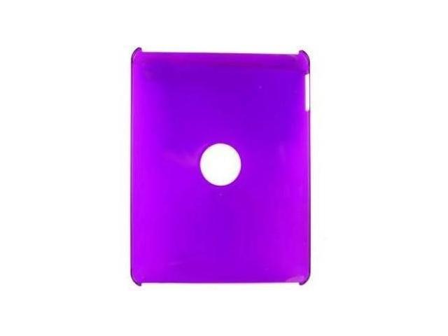 Fosmon Crystal Case for Apple iPad 1st Gen (Purple)