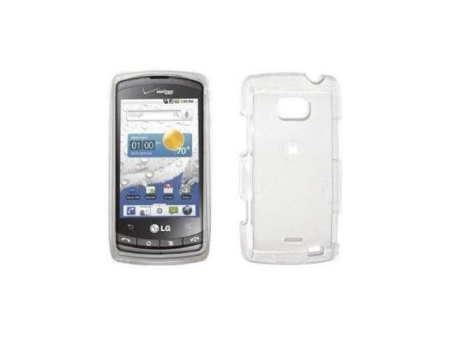 LG Ally VS740 Crystal Clear Case