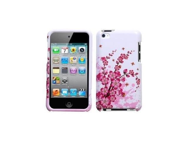 Fosmon Premium Quality Hard Case for Apple iPod Touch 4th Gen - Spring Flowers Design