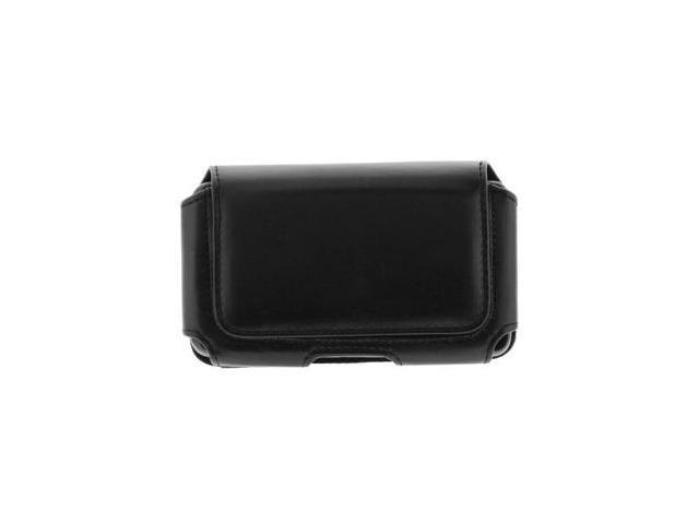 Fosmon Horizontal Black Leather Case for Samsung Focus SGH-i917