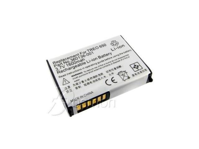 1600mAh Battery fits Palm Treo 650 series