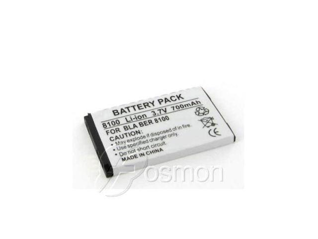 700mAh Battery fits BlackBerry 8100 Pearl, 8130 Pearl series