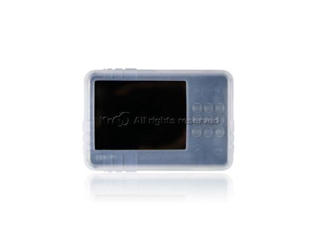Creative Zen X-Fi 8Gb, 16Gb & 32Gb Wireless Silicone Skin Case - White Clear