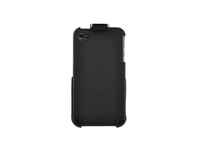 Seidio Black SURFACE Case and Holster Combo for Apple iPhone 4 and 4S (All Carriers) BD2-HR3IPH4P-BK
