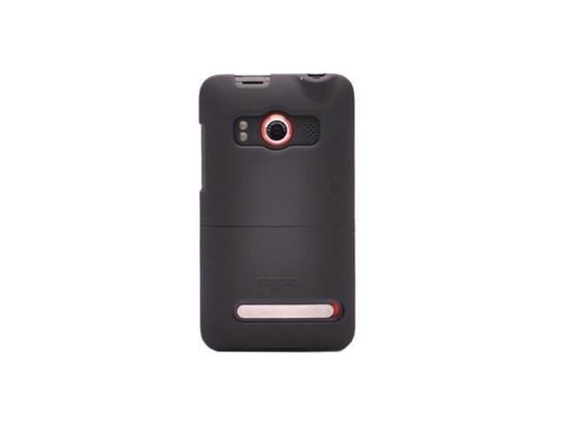 For Seidio HTC Evo 4g Innocase Rubber Hard Case Black