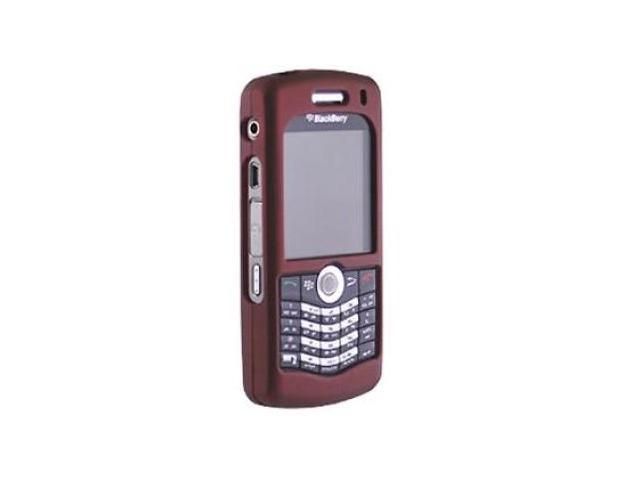 Seidio Innocase Surface Snap on case for BlackBerry Pearl 8120 / 8130 - Red / Burgundy