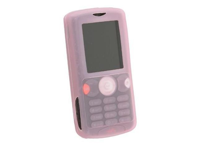 Silicone Skin Case for Sony Ericsson W810 , Pink