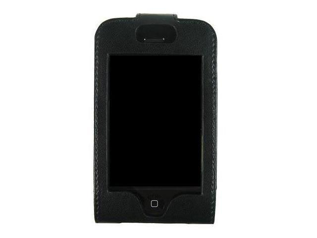 Kroo Forza Black Leather Case for Apple iPhone 1st Generation