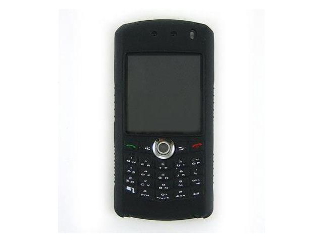 Kroo Black Soft Silicone Case for BlackBerry Pearl 8100