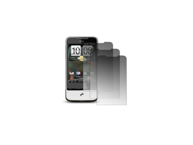 3 Pack of Premium Crystal Clear Screen Protectors for HTC Legend