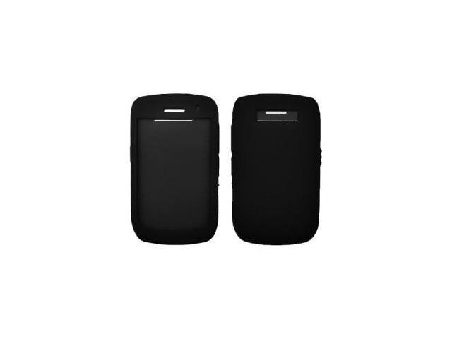 Premium Purple Silicone Gel Skin Cover Case for Blackberry Curve 3G 9300