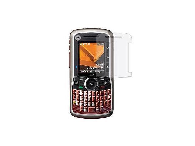 Motorola Clutch i465 Crystal Clear Screen Protector