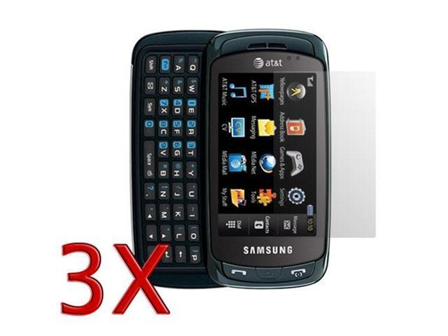 3 Pack Screen Protector LCD Guard For Samsung Impression SGH-A877 by Fosmon